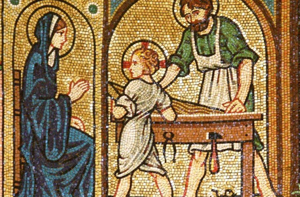 1er mai, FETE de saint Joseph, artisan, travailleur