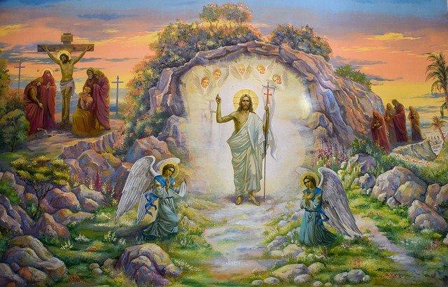 Christ est ressuscité ! Alléluia !
