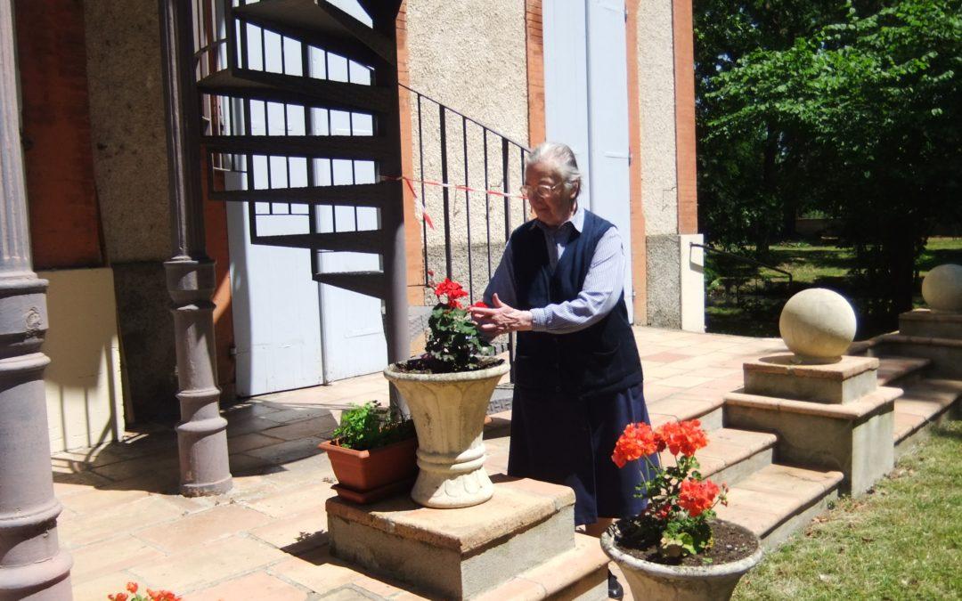 Sr Marie Claire LHOMMET  Jubilé de 60 ans de vie consacrée – Toulouse La Cadène